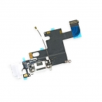Replacement Part for Apple iPhone 6 Charging Port Flex Cable Ribbon - White - A Grade