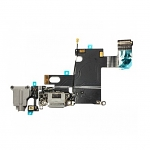 Replacement Part for Apple iPhone 6 Charging Port Flex Cable Ribbon - Dark Gray - A Grade