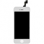 Replacement Part for Apple iPhone 5s LCD Screen and Digitizer Assembly with Frame - White - A Grade
