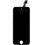 Replacement Part for Apple iPhone 5s LCD Screen and Digitizer Assembly with Frame - Black - A Grade