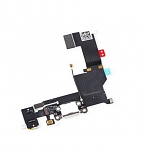 Replacement Part for Apple iPhone 5s Charging Port Flex Cable Ribbon - White - A Grade