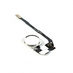 Replacement Part for Apple iPhone 5s Home Button Assembly with Flex Cable Ribbon - White-Gold-Black - A Grade