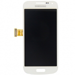 Replacement Part for Samsung Galaxy S4 LCD Screen and Digitizer Assembly  - White - With Samsung Logo - A Grade