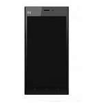 Xiaomi Mi3 LCD Screen and Digitizer Assembly with Front Frame - Black
